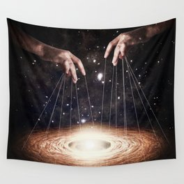 The Greatest Puppeteer Wall Tapestry