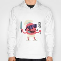 chef Hoodies featuring Cool Chef by Sergei Dragunov