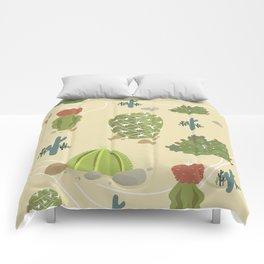 Cactus Land Comforters