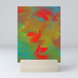 Lucid varying red Mini Art Print
