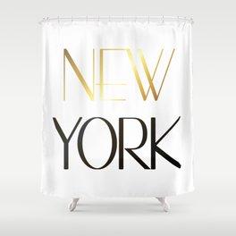 New York City Art Shower Curtain