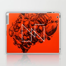 Old School Rocks (Orange Rock Version) Laptop & iPad Skin