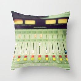 soundboard Throw Pillow