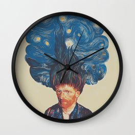 de hairednacht Wall Clock