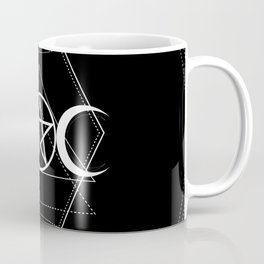 Triple Moon Pentagram Coffee Mug