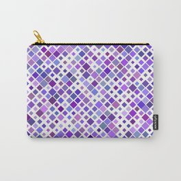 Purple Squared Carry-All Pouch