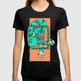 blue fangs T-shirt