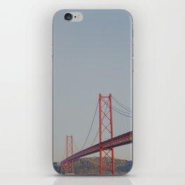 Across the Bridge iPhone Skin