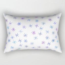 snowflakes (5) Rectangular Pillow