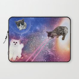 Adventures with Space Cats Laptop Sleeve