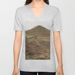 Roseberry Topping Unisex V-Neck