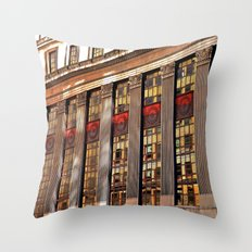 Downtown Reflections Throw Pillow