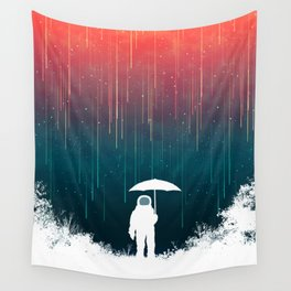 Meteoric rainfall Wall Tapestry