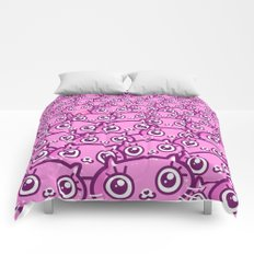 Crazy Cat Lady Dreams Comforters