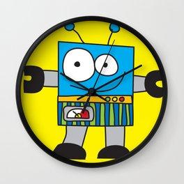Rectangle Robot Wall Clock