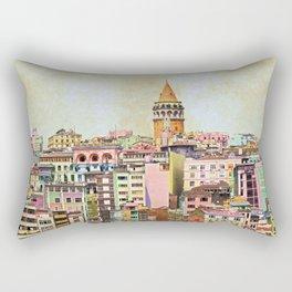 Istanbul city Turkey Rectangular Pillow
