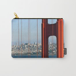 Golden Gate Bridge – Panoramic Downtown View Carry-All Pouch