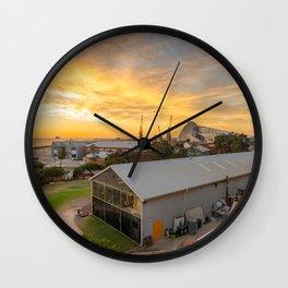 J Shed Fremantle Wall Clock