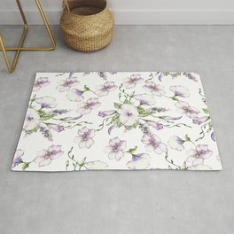 Morning Glory Floral Delight Rug