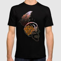 abstract thinking  Mens Fitted Tee MEDIUM Black