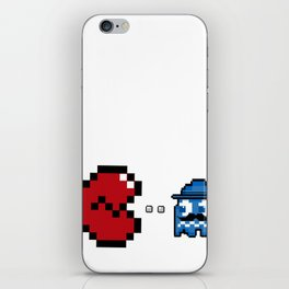 """Broken h3arts byte"" iPhone Skin"