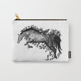 Horse - Go Vegan Carry-All Pouch