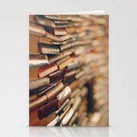 library Stationery Cards featuring library by Kristina Strasunske