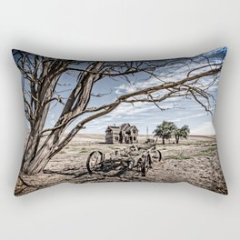 Haunted House Rectangular Pillow