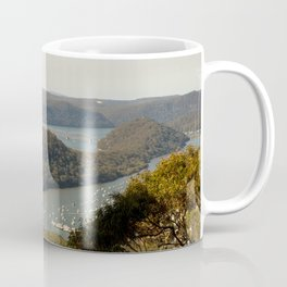 View of Hawkesbury River from Muogamarra Reserve, Sydney Coffee Mug