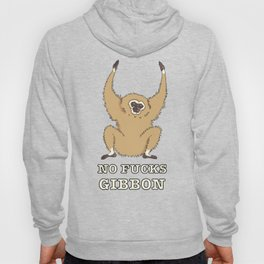 No Fucks Gibbon (No Fucks Given) Hoody