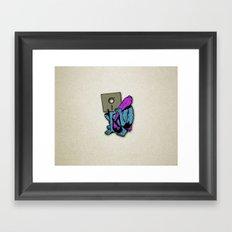 Primitive Media Framed Art Print