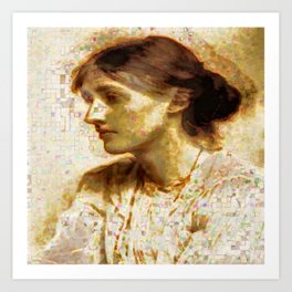 Woolf Art Print
