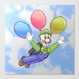 Luigi's Balloon World Canvas Print