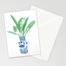 Ginger Jar + Bird of Paradise Stationery Cards