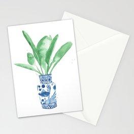 Ginger Jar + Bird of Paradise Stationery Cards