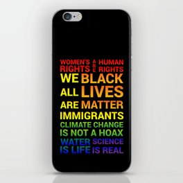 Women's Rights are Human Rights iPhone Skin