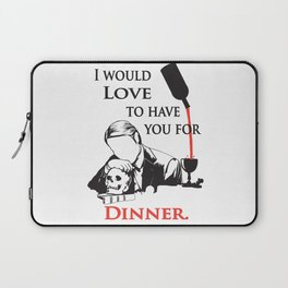 Hannibal The Cannibal  Laptop Sleeve