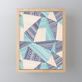 geometric Framed Mini Art Print