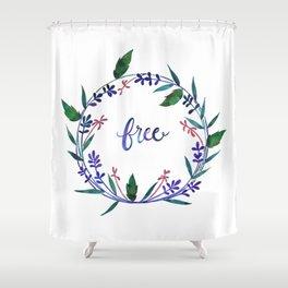 Hidden Falls: Free Shower Curtain