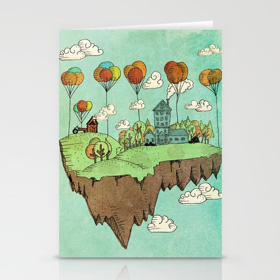 The Floating Farm Stationery Cards