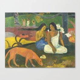 Arearea by Paul Gauguin Canvas Print
