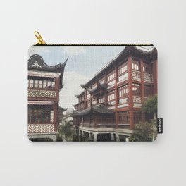 Yuyuan Garden (Garden of Happiness) is an extensive Chinese garden located in the Old City of Shangh Carry-All Pouch