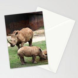 Rhinos Stationery Cards