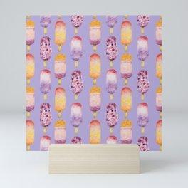 Popsicles - lavender Mini Art Print