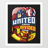 United We Stand Art Print