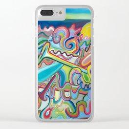 Composición verano 1 Clear iPhone Case