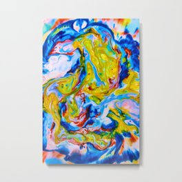 Milkblot No. 6 Metal Print