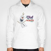 olaf Hoodies featuring Olaf by An Illustrated Dream