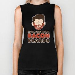 Bacon Beard (men's version) Biker Tank
