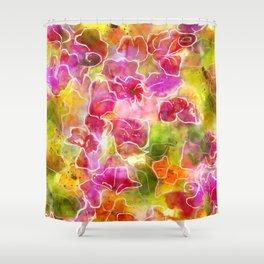 sweet pink azaleas Shower Curtain